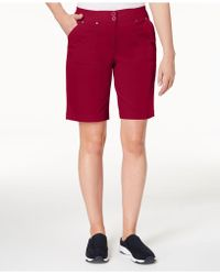 Karen Scott - Petite Bermuda Shorts, Created For Macy's - Lyst