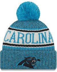 80a2cd1a0 Lyst - 47 Brand Women's Carolina Panthers Sparkle 2-tone Adjustable ...