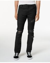 American Rag - Ripped Moto Jeans, Created For Macy's - Lyst