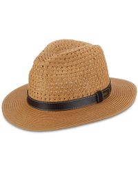 Dorfman Pacific - Braid Safari Hat - Lyst