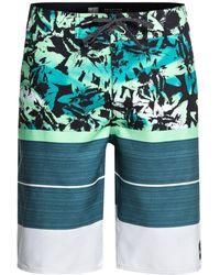 """Quiksilver - Slab Island 21"""" Board Shorts - Lyst"""
