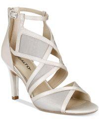 Rialto | Ria Colorblocked Dress Sandals | Lyst
