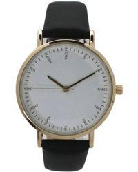 Olivia Pratt - Simple Leather Strap Watch - Lyst