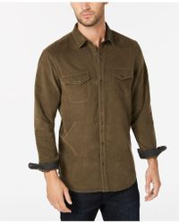 INC International Concepts - Calban Corduroy Shirt, Created For Macy's - Lyst