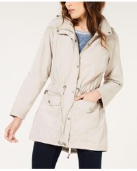 Style & Co. - Tunic-length Anorak Jacket - Lyst