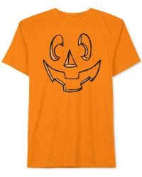 Jem - Men's Carved Jack-o'-lantern Pumpkin Halloween T-shirt - Lyst