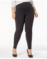 Hue - Plus Size Cotton Leggings - Lyst