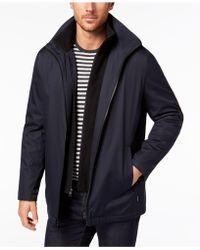 Calvin Klein - Ripstop Full-zip Jacket With Fleece Bib - Lyst