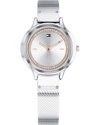 Tommy Hilfiger - Stainless Steel Bangle Bracelet Watch 32mm Created For Macy's - Lyst