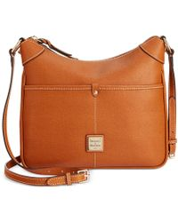 Dooney & Bourke - Saffiano Leather Kimberly Crossbody - Lyst