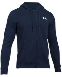 Under Armour - Men's Rival Zip Hoodie - Lyst
