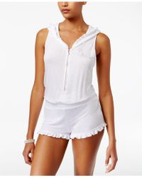 Betsey Johnson - French Terry Bridal Romper - Lyst