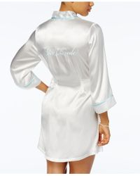 Linea Donatella - Satin The Bride Wrap - Lyst