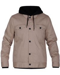 Hurley - Hooded Truck Stop Jacket - Lyst