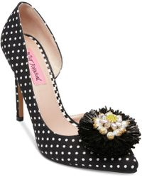 Betsey Johnson - Sloan Pointy Toe Court Shoes - Lyst