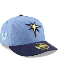 KTZ - Tampa Bay Rays Spring Training 59fifty-fitted Low Profile Cap - Lyst 9e332b94b