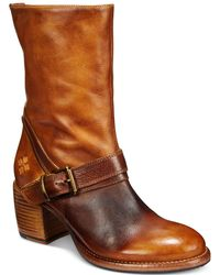 Patricia Nash - Lombardy Buckle Mid Boots - Lyst