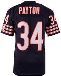 Mitchell & Ness - Men's Walter Payton Chicago Bears Replica Throwback Jersey - Lyst