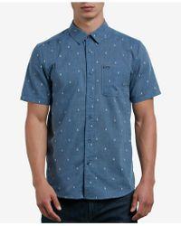 Volcom - Gladstone Jacquard Button-down Shirt - Lyst