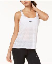 Nike - Dry Split-back Training Tank Top - Lyst