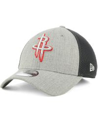 KTZ - Houston Rockets Heathered Neo Pop 39thirty Cap - Lyst