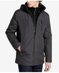 Calvin Klein - Men's Fleece-lined Hooded Jacket - Lyst