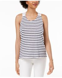 Maison Jules - Tie-back Tank Top, Created For Macy's - Lyst