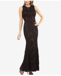 JS Collections - Sequined Floral-lace Gown - Lyst