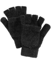 Steve Madden - Marled Tailgate Gloves - Lyst