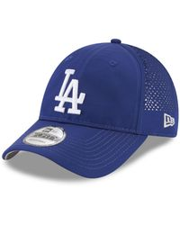 new styles 5fb36 8d69b KTZ - Los Angeles Dodgers Perf Pivot 9forty Cap - Lyst