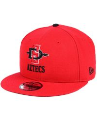 new styles 4217d de2c1 KTZ San Diego State Aztecs Tip Bucket Hat in Gray for Men - Lyst
