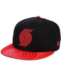 259fa465 47 Brand Portland Trail Blazers 2-tone Clean Up Cap in Red for Men ...