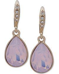 Givenchy - Crystal & Stone Medium Drop Earrings - Lyst