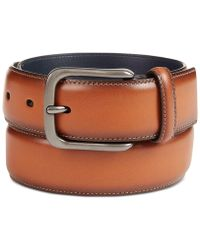 Original Penguin - Burnished Bird Leather Belt - Lyst