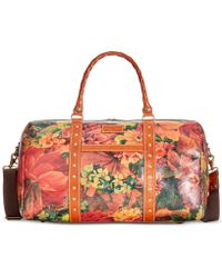 Patricia Nash | Signature Map Print Milano Large Overnighter | Lyst