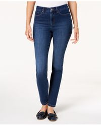 Charter Club - Petite Tummy Control Skinny Jeans, Created For Macy's - Lyst