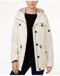 Levi's | Hooded Military Jacket | Lyst