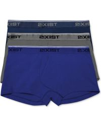 aecec22af8ce 2xist 2(x)ist Men's Printed No-show Briefs in Blue for Men - Lyst