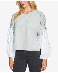1.STATE - Blouson-sleeve Sweatshirt - Lyst