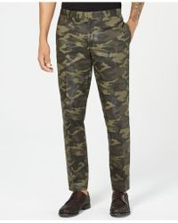 INC International Concepts - Slim-fit Camo Trousers, Created For Macy's - Lyst