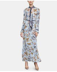 BCBGMAXAZRIA - Woven Maxi Dress - Lyst
