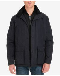 London Fog - Arietta Diamond Quilted Field Coat, Created For Macy's - Lyst