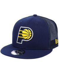 detailing 7a5a7 15a8f KTZ Indiana Pacers Basic 2 Tone 9fifty Snapback Cap in Blue for Men - Lyst