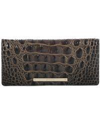 Brahmin - Ady Melbourne Embossed Leather Wallet - Lyst