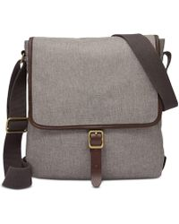 Fossil - Buckner City Bag - Lyst