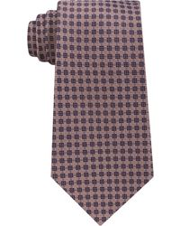 Michael Kors - Men's Small Stitched Neat Silk Tie - Lyst