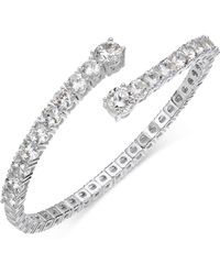 Joan Boyce - Crystal Flex Bangle Bracelet - Lyst