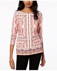 Charter Club - Boat-neck Top - Lyst