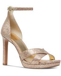Michael Kors - Michael Alexia Dress Sandals - Lyst