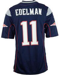 Nike - Julian Edelman New England Patriots Game Jersey - Lyst
